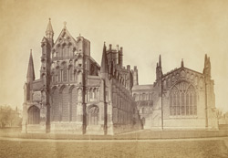 Ely Cathedral, Exterior, East